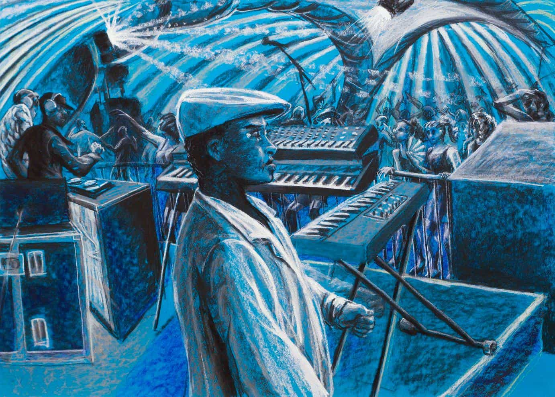 Ben Brophy Suncebeat Dome Blue