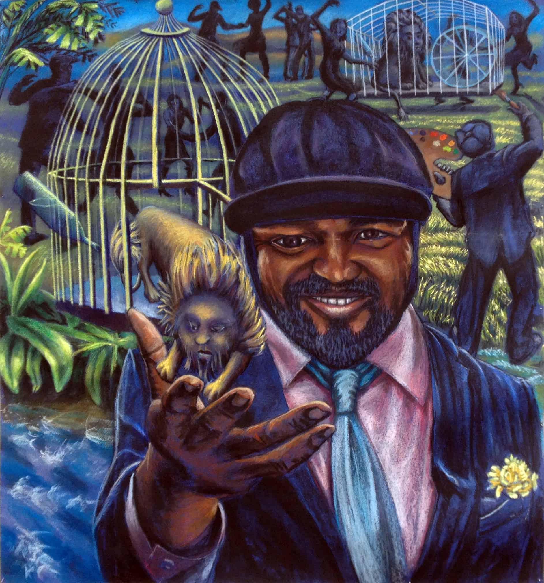 Gregory Porter Portrait by Oscar Romp